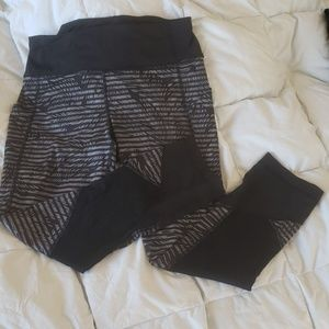 Lululemon 3/4 crop leggings